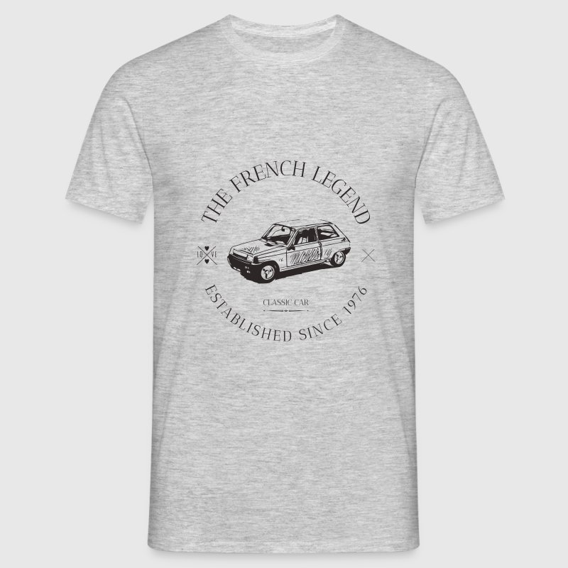 RENAULT R5 FRENCH CAR Tee shirts - T-shirt Homme