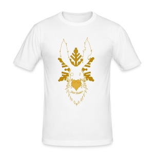 T-shirt Slim Fit Slide Rabbit's Or Collection Homme - Tee shirt près du corps Homme