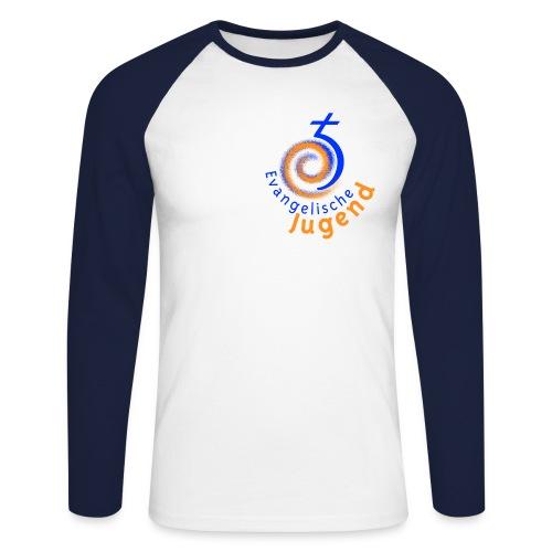 Männer Baseballshirt EJHN - Männer Baseballshirt langarm