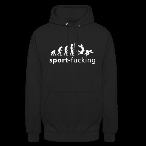 Felpa Sport-Fucking, perché alla fine è uno sport modello unisex - Felpa con cappuccio unisex
