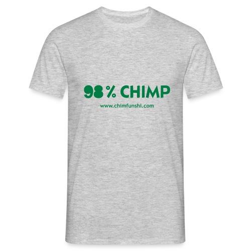 Männer T-Shirt 98% Chimp - Männer T-Shirt