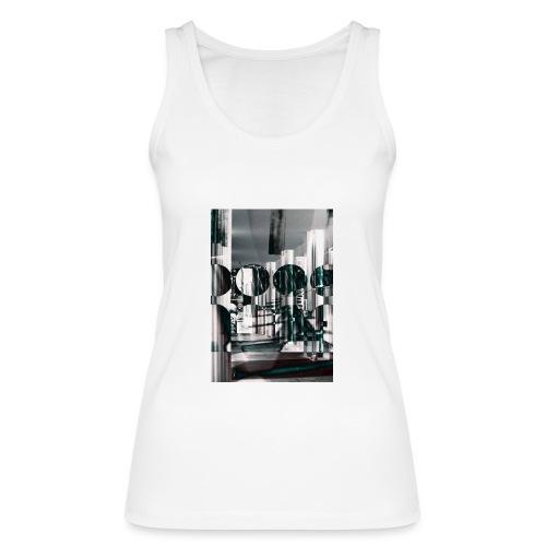 Grafik-Shirt weiß - Frauen Bio Tank Top von Stanley & Stella