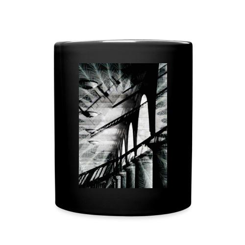 Perspektive Tasse schwarz - Tasse einfarbig