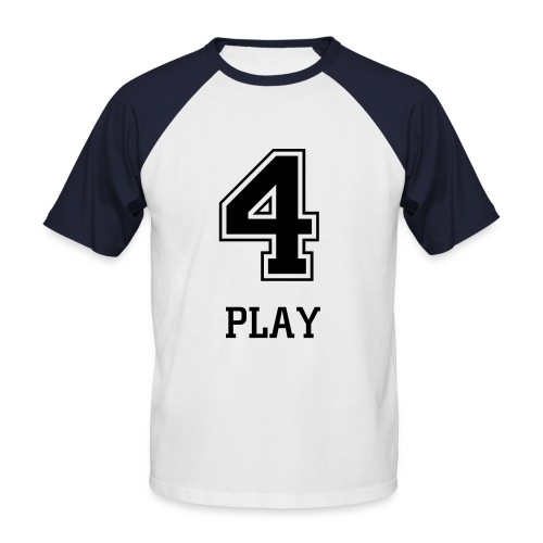 4-Play - Männer Baseball-T-Shirt