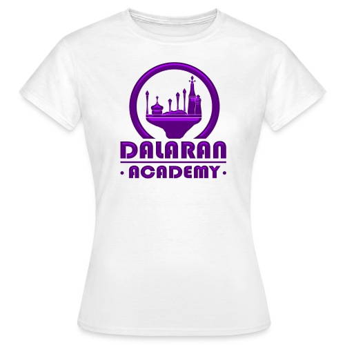DALARAN ACADEMY - Modèle femme [LOGO PURPLE] - T-shirt Femme
