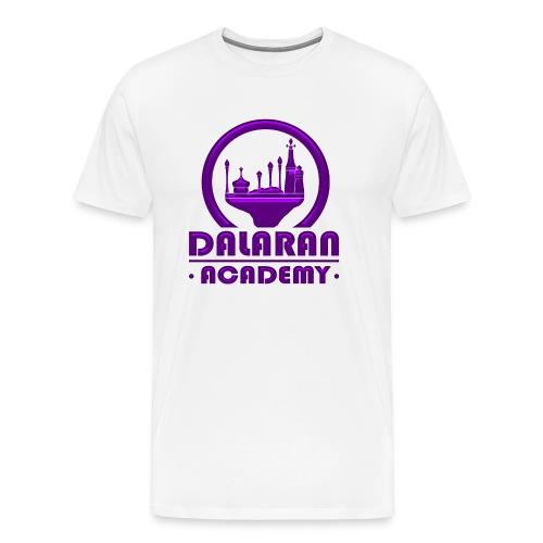 DALARAN ACADEMY - Modèle homme [LOGO PURPLE] - T-shirt Premium Homme