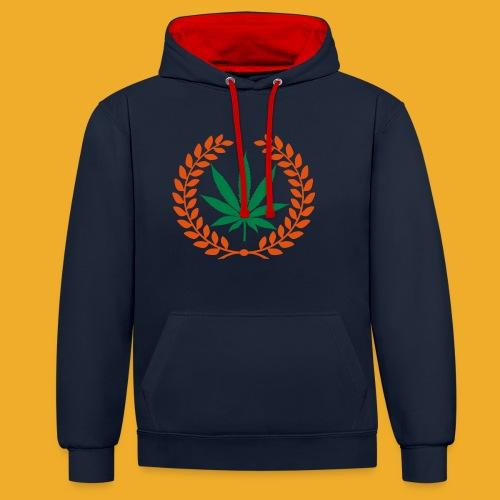 Knarkar Orginal - Contrast Colour Hoodie