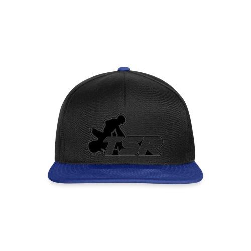 SnapBack Logo TSR Noir - Casquette snapback