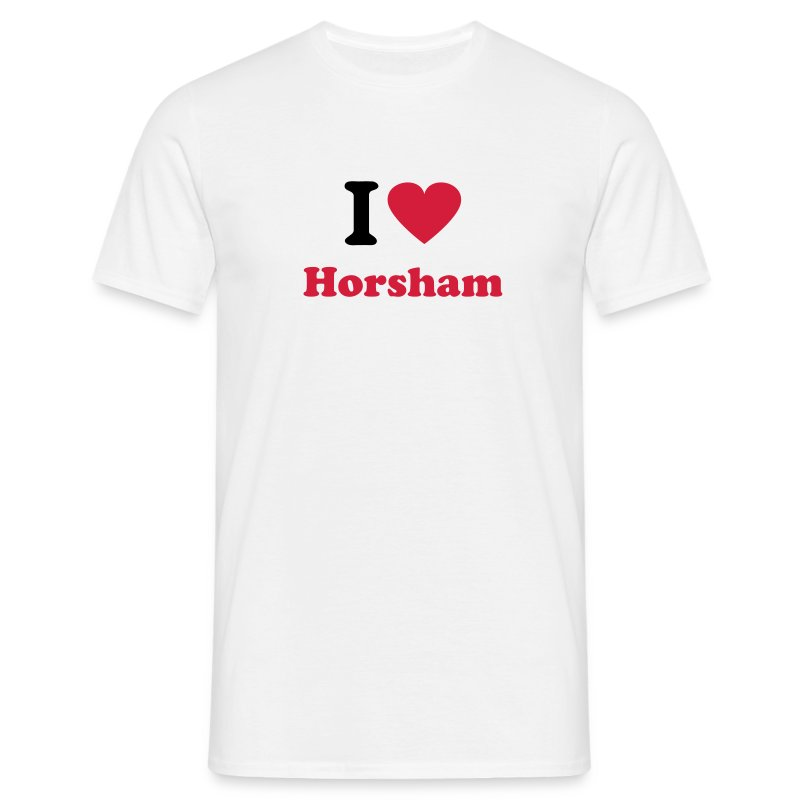 I Love Horsham (Men's) - Men's T-Shirt