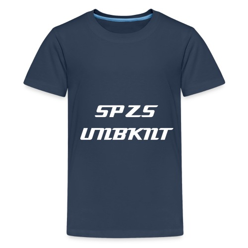 SPZS UNBKNT | Shirt - Teenager Premium T-Shirt
