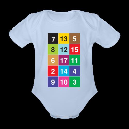 13 Nuancen von Zürich Baby - Organic Short-sleeved Baby Bodysuit