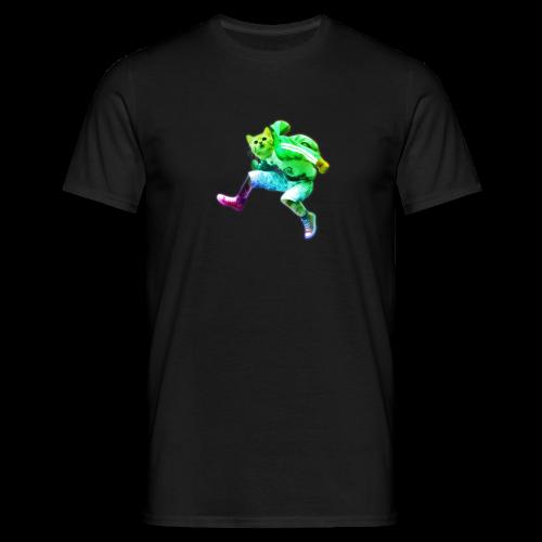 Git jump'd T-Shirt Rainbow - Men's T-Shirt