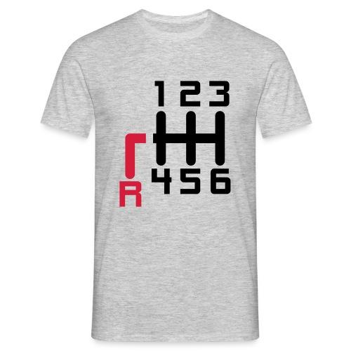 T-Shirt Herren Schaltung - Männer T-Shirt