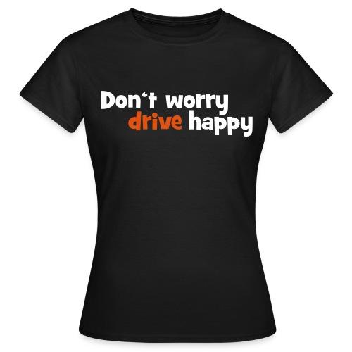 T-Shirt Damen Happy - Frauen T-Shirt