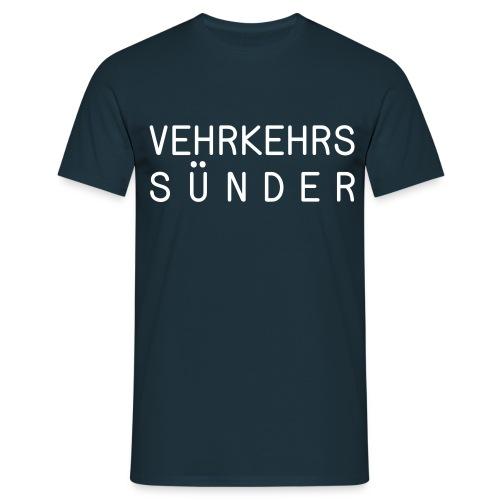 T-Shirt Herren Sünder - Männer T-Shirt