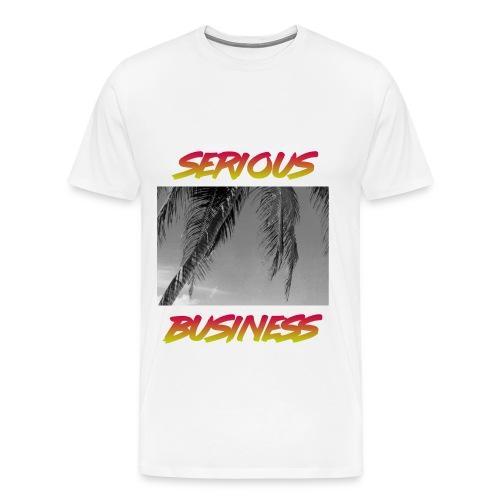 T SHIRT SERIOUS BUSINESS CHILL - T-shirt Premium Homme