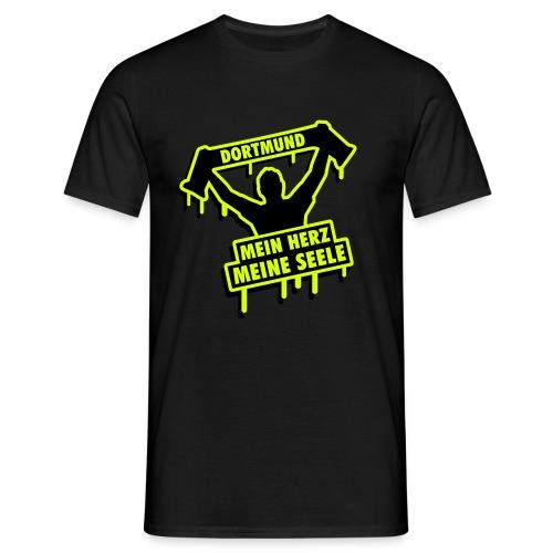 Mein Herz , Meine Seele Shirt - Männer T-Shirt