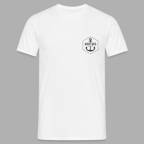 MightyShirt Male White - Männer T-Shirt