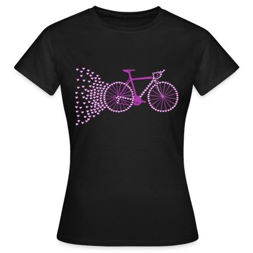 I love bike - T-shirt Femme
