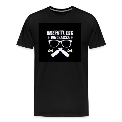 Wrestling&Ignoranza LOGO - Maglietta Premium da uomo