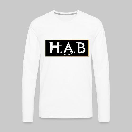 HAB Street - T-shirt manches longues Premium Homme