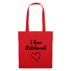 I love Patchwork Bag - Tas van stof