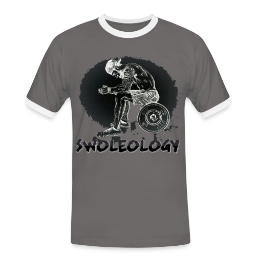 swoleology the thinker. Ringspun - Men's Ringer Shirt