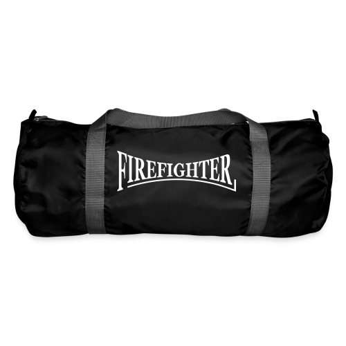 Firefighter duffel bag Black - Duffel Bag