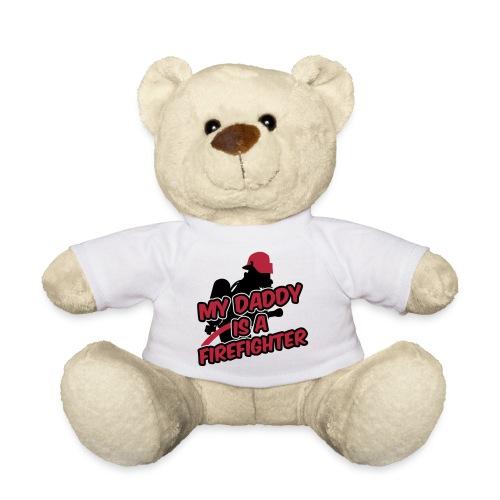 My daddy is a firefighter teddy bear - Teddy Bear
