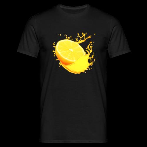Orange T-shirt - Men's T-Shirt