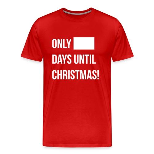 Christmas Countdown (Mens) - Men's Premium T-Shirt