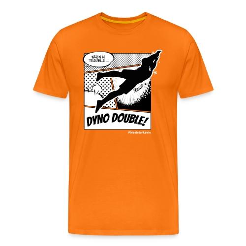 Dyno Double - Männer Premium T-Shirt