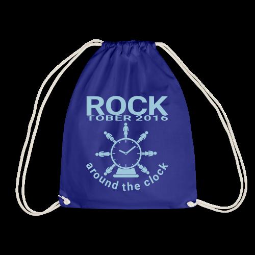 Rocksack Rocktober 2016 around the Clock - Turnbeutel