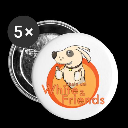 Set 4 spille - Confezione da 5 spille piccole (25 mm)