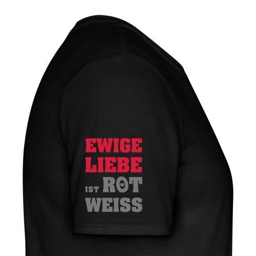 München ist Rot Weiss Shirt - Männer T-Shirt