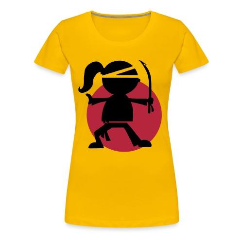 Urban Ninjarette Girlshirt - Women's Premium T-Shirt