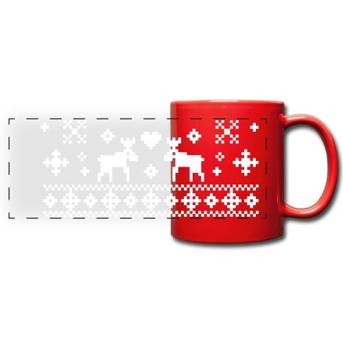 Norwegian X-Mas Mug - Full Color Panoramic Mug