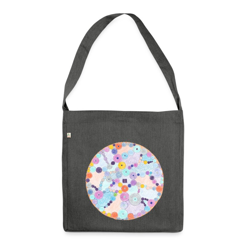 Creativity Relaxing organic cotton bag - Borsa in materiale riciclato