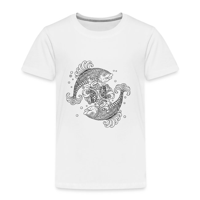 Shirt zum Ausmalen