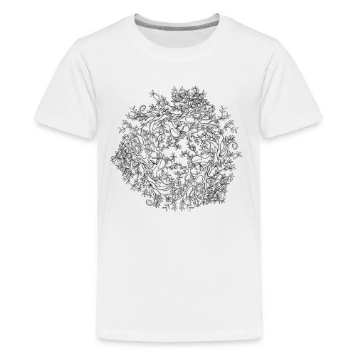 Shirt zum Ausmalen - Teenager Premium T-Shirt