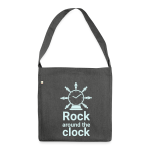 Schultertasche Rock around the Clock - Schultertasche aus Recycling-Material
