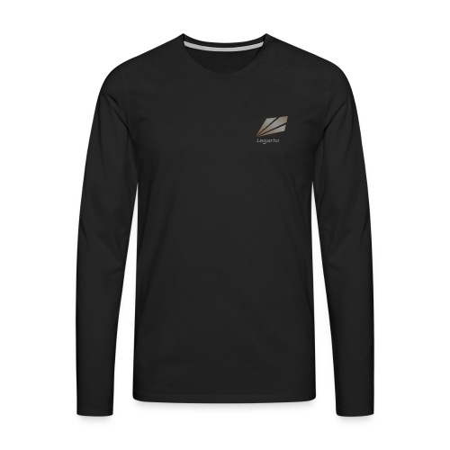 Langarm Shirt mit Nicknamen  - Männer Premium Langarmshirt