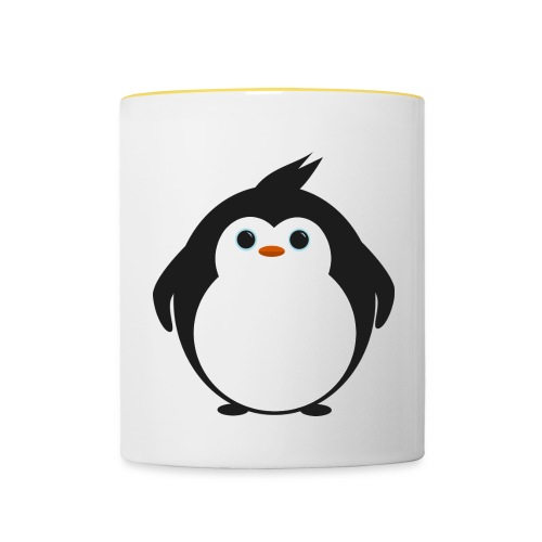 Purdy Penguin Contrasting Mug - Contrasting Mug