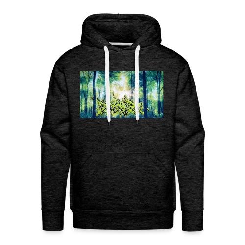 Daiar Wood Nature - Männer Premium Hoodie