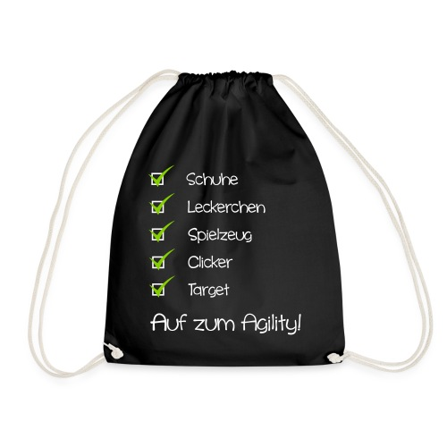 agility checkliste - Turnbeutel