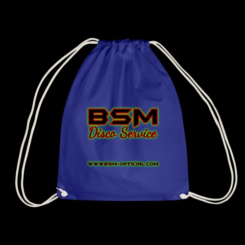 BSM Disco Service Drawstring Bag - Drawstring Bag