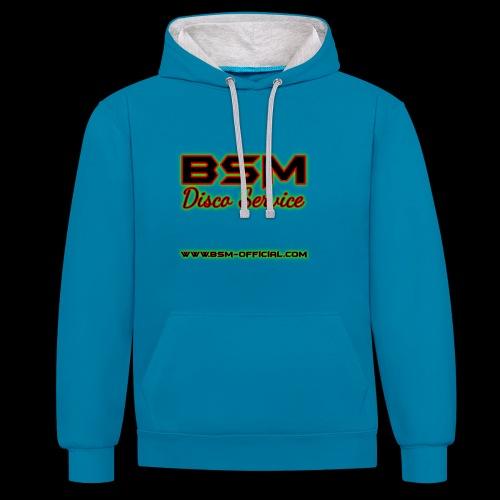 BSM Disco Service Hoodie - Contrast Colour Hoodie