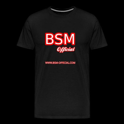 BSM (Official) T-Shirt - Men's Premium T-Shirt