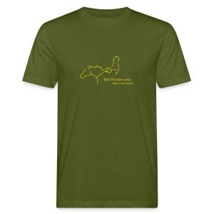 MPS Reiter Gold Men´s Shirt Bio - Männer Bio-T-Shirt