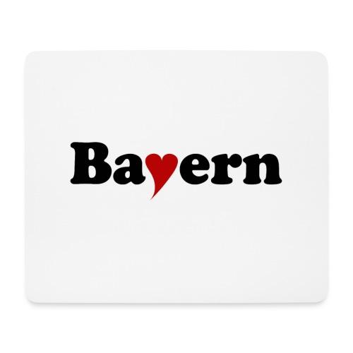 Bayern mit Herz - Mousepad (Querformat)